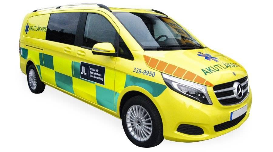ambulans-varsel-bildekor
