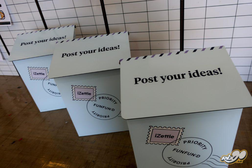 Foliering av postlåda till företag i Stockholm